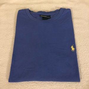 Polo Ralph Lauren Solid Blue T-Shirt size S